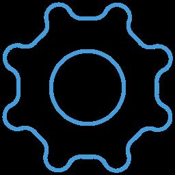 gear cog icon